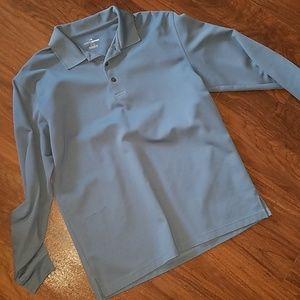 Long Sleeve Golf Style Polo Shirt